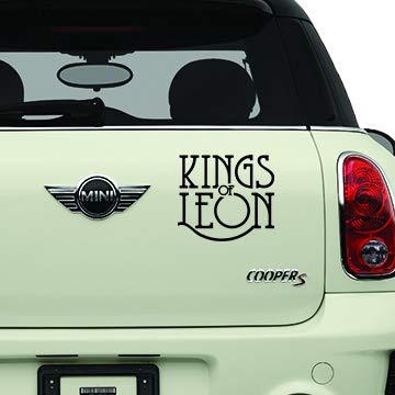 Kings of Leon Black Bands Automotive Decal/Bumper Sticker
