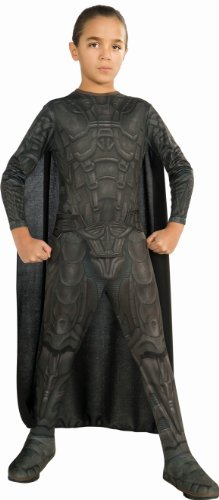 Zod Man Of Steel Costume (Man of Steel General Zod Children's Costume, Medium)