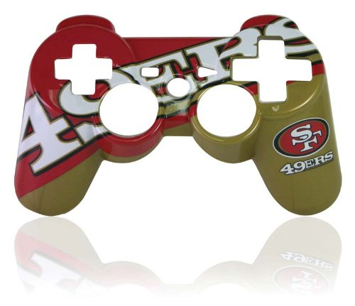 PS3 Official NFL San Franscisco 49ers Controller Faceplate