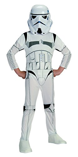 [Star Wars Classic Stormtrooper Child Costume, Small] (Deluxe Kids Stormtrooper Costumes)