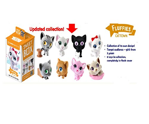 Price comparison product image FLUFFIES Kittens SweetBox Fruit jelly with a toy in a box 12 / 10,  10g