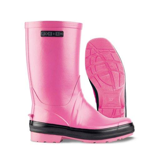 Nokian Footwear Reef - Botas de goma para hombre rosa - Pink, Black