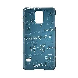 Maths Samsung S5 3D wrap around Case - Design 2