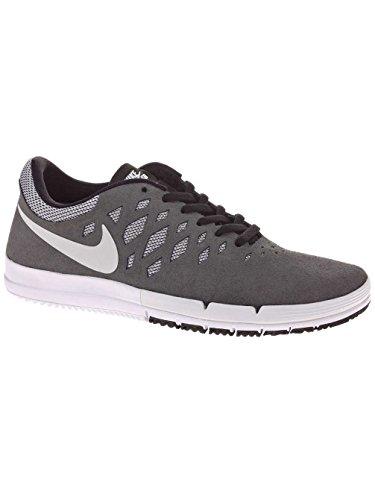 Nike Free SB, Zapatillas de Skateboarding para Hombre Dark Grey/White-Team Red-Black
