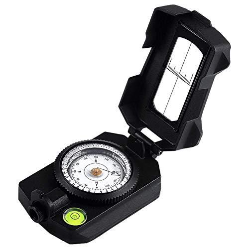 Ueasy Brújula para senderismo, altura, medidor de altura, medidor de nivel de inclinación, medidor de ángulo, clinómetro,...