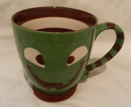 Starbucks 2007 Halloween Pumpkin Jack-o-Lantern Green Monster Mug (Halloween Starbucks)