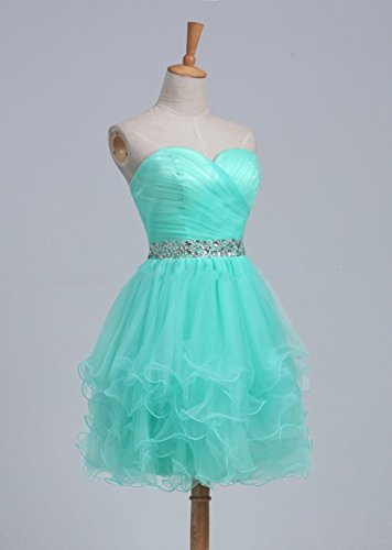 Rhinestone Short Prom MaliaDress Tulle Dress White M021LF Sweetheart Gowns Homecoming xECCwH1q
