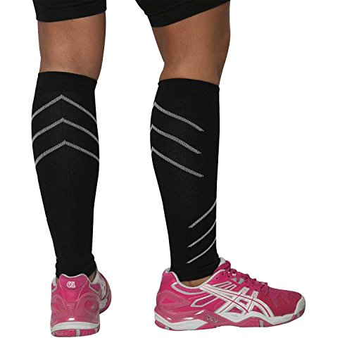 Leg Sleeves - Compression Calf Sleeves - Help Shin Splints, Calf Cramping, Faster Muscle Recovery by Generic (Image #2)