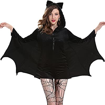 SVANCE Adult Halloween Party Funny Costumes Clothing for Womens and Sexy Girls,Small-Plus Size.