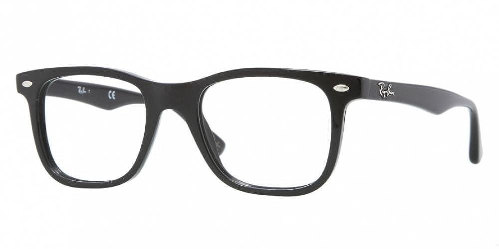 Ray-Ban Men's RX5248 Eyeglasses Shiny Black 49mm #N/A B0067BDH1K