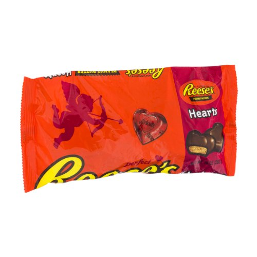 Reese's Valentine's, Peanut Butter Hearts Bag, 10 Ounce