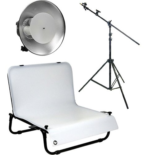 Impact One Light Boom Desktop Studio Kit by Impact
