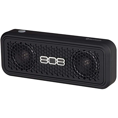 808 Audio XS Wireless Bluetooth Stereo Speaker - Black
