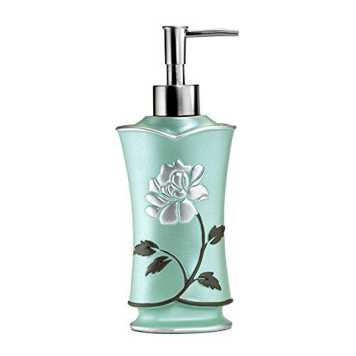Popular Home Soap Dispenser/Lotion Pump, Avanti Collection, Aqua