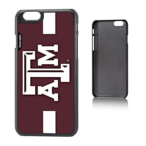 Texas A&M Aggies iPhone 6 & iPhone 6s Slim Case officially licensed by Texas A&M University for the Apple iPhone 6 by keyscaper® Sleek Light Durable Precise (Texas A&m University Night Light)
