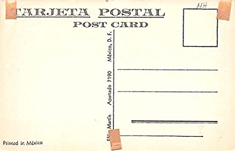 Dos Valientes, 2 Brave Men Mexico Postcard Tarjeta Postal at ...