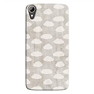 Cover It Up - Clouds Silver Sky Desire 828 Hard Case