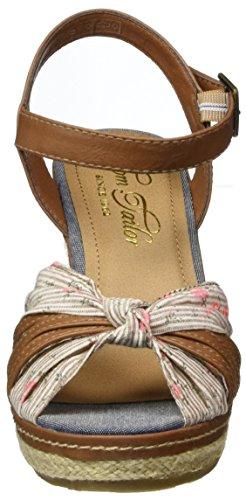 Femme Cheville 2790801 Marron Bride Tailor Sandales mud Tom Xq6UIwZgfx