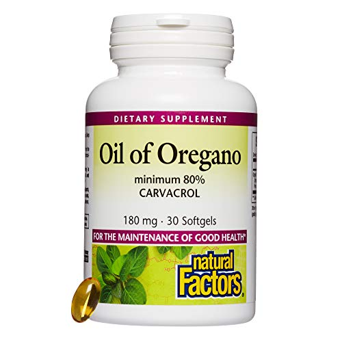 Natural Factors, Oil of Oregano, 30 -