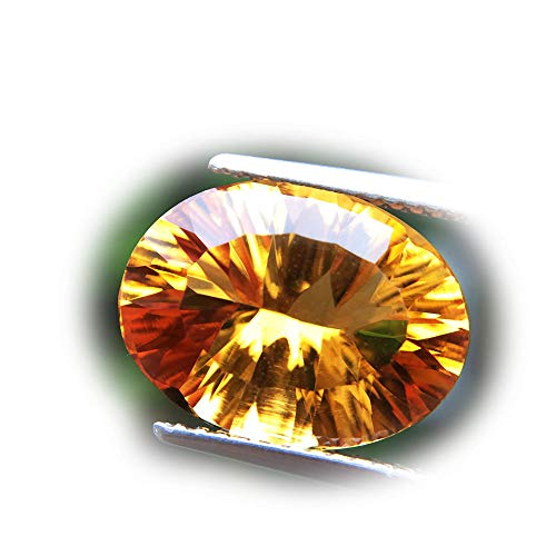 Lovemom 5.65ct Natural Oval Unheated Yellow Citrine Brazil #W by Lovemom (Image #5)