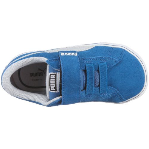 Puma Kds Vulc Lifestyle - Zapatillas con cierre de velcro Violett/Snorkel Blue/Gray Violet/White