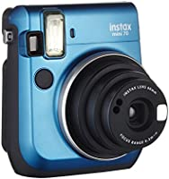 Fujifilm Instax Mini 70 - Instant camera, color azul (Island Blue)