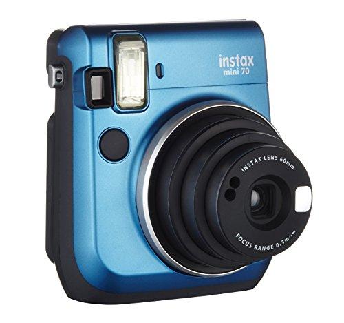 Fujifilm-Instax-Mini-70-Cmara-analgica-instantnea-ISO-800-037x-60-mm-1127-flash-automtico-modo-autorretrato-exposicin-automtica-temporizador-modo-macro