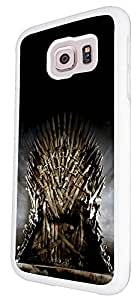 449 - Game of throne iron throne Design For Samsung Galaxy S6 Egde Fashion Trend CASE Back COVER Plastic&Thin Metal