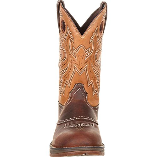 Men's Tan by Boot Brown Durango Western Saddle and 9 Rebel M DDB0132 TnXR6xqAT
