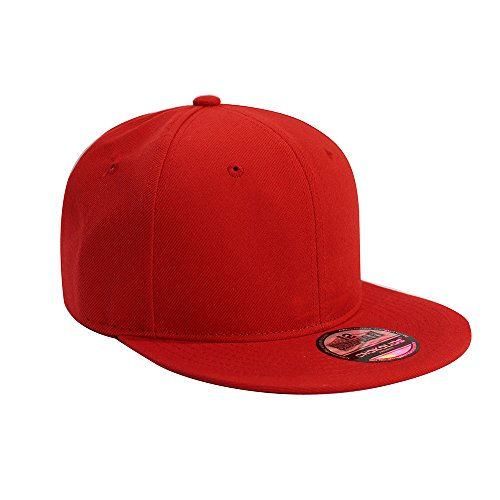 2f8f954599e Flat Visor Snapback Hat Blank Cap Baseball Cap - 8 Colors - Import It All