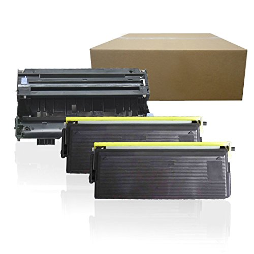 (Inktoneram Compatible Toner Cartridges & Drum Replacement for Brother TN460 TN430 DR400 DR-400 TN-460 TN-430 MFC-1260 MFC-1270 MFC-2500 MFC-8300 MFC-8500 MFC-8600 MFC-8700 MFC-9600 (Drum,2-Toner,3PK))