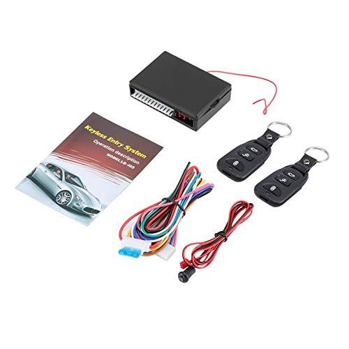 Functy Sistema di Apertura Senza Chiave per Veicolo con Chiusura centralizzata Kit Universale per Auto