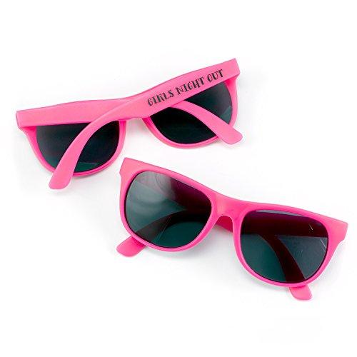 Hortense B. Hewitt 61050 6 Count Girls Favor Night Out - Sunglasses Com Store