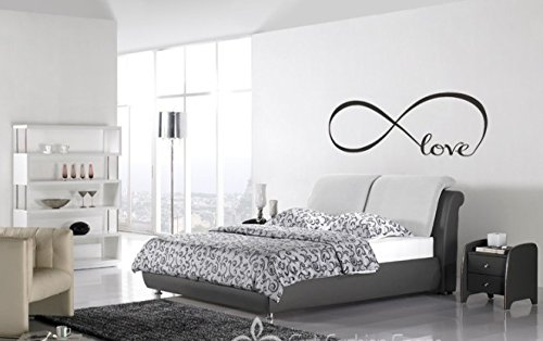 Amazon.com: Wall Decal of Love Personalized Infinity Symbol ...