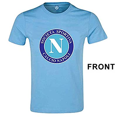 Ssc Napoli Crest T-Shirt (Large)