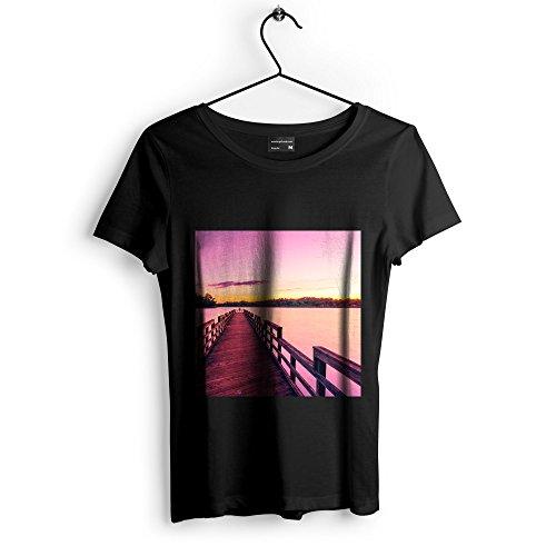 ck - Unisex Tshirt - Picture Photography Artwork Shirt - Black Adult Medium (None-7FB84) ()