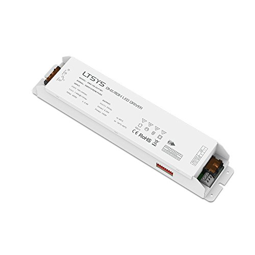 DMX/ROM DMX512 LED Dimmable Driver DMX LED Intelligent 24V DC 150W 4CH isolated PWM output, control dimming/CT/RGB/RGBW lamps by LTSYS