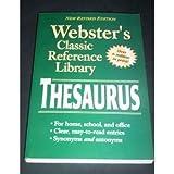 Webster's Thesaurus, n//a, 0769615899