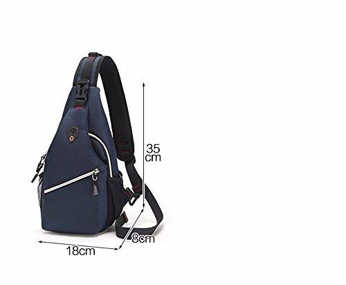 A Hombres package niuzingbu Mochila Backpack 38 Portable Hombro Mochila deportes Xxszkaa Los 8cm Montar Aire Bolso Pecho viajes Al Del A4 Multifuncional De A1 18 Solo Libre Caballo TqdwYZq