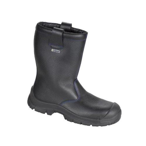 Elysee Winter-Stiefel Sicherheits-Stiefel NORDHOLZ ÜK - S3 - 34343 - schwarz - Größe  45