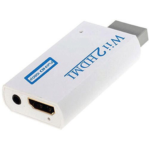 Price comparison product image Wii To HDMI Upscaling Converter Adapter with 3.5mm Audio Output 720P/1080P