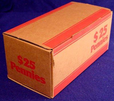 MMF240140107 - MMF Corrugated Cardboard Coin Transport Box (Corrugated Cardboard Coin)
