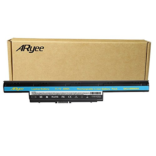 ARyee Battery for Acer Aspire 5251 5253 5336 5349 5551 5552 5560 5733 5741 5742 5750 5755 Fit Acer Aspire 4250 4253 4739 4743 4741 4750 4752 (Nv77h Laptop)