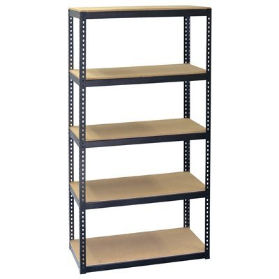 Jaken Co. SCB0650D 5 Shelf Storage Unit, 12'' x 30'' 60'' by Jaken Co.