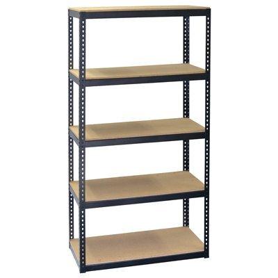 Jaken Co. SCB0650D 5 Shelf Storage Unit, 12'' x 30'' 60''