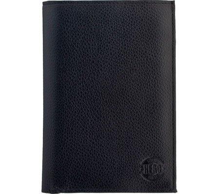 Hero Passport Holder Polk Series 630BLA Better Than Leather, Black HROP630BLA