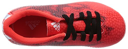adidas F5 Tf J, Botas de Fútbol Unisex Niños Rouge