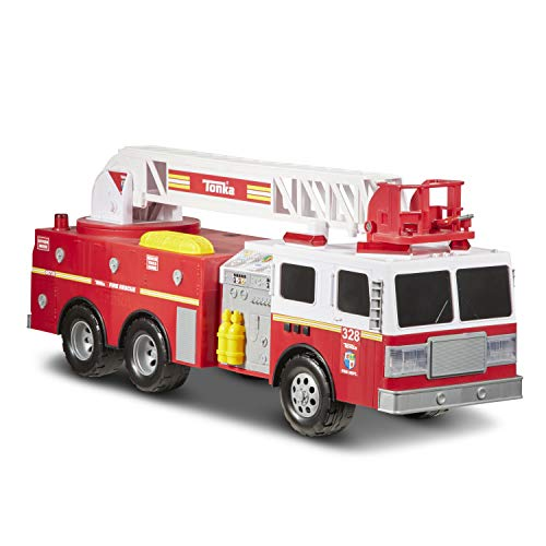 Tonka 6735 Spartans Fire Engine Toy Vehicle, Red