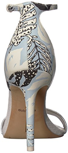 Women's Print Palm Blue Halo Vita Sky Dolce Heeled Sandal 5x1UqR18w