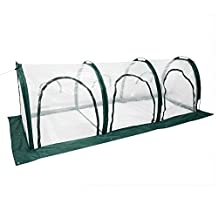 """Pop Up Clear Greenhouse Cover For Cold Frost Protector Gardening Plants Pot Flower Shelter 118""""x39""""x39"""""""